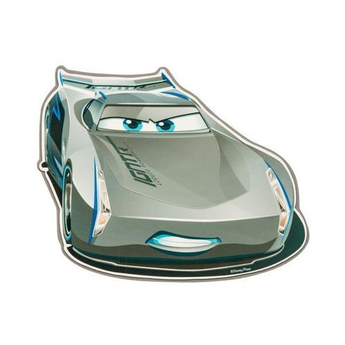 Disney Naklejka piankowa dla dzieci cars szara