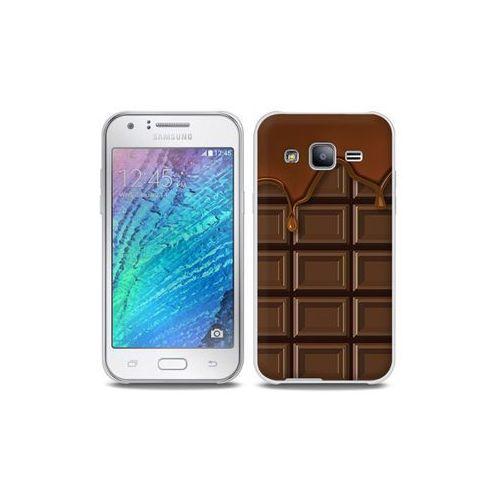 Samsung Galaxy J5 - etui na telefon Full Body Slim Fantastic - tabliczka czekolady