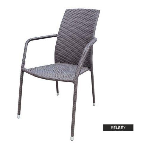 Selsey krzesło ogrodowe sokoto brązowe