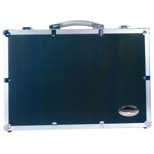 Rockcase rc-23208-b flight case - for 8 microphones, futerał na mikrofony