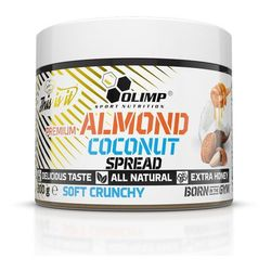 Olimp premium almond coconut spread soft crunchy - 300g