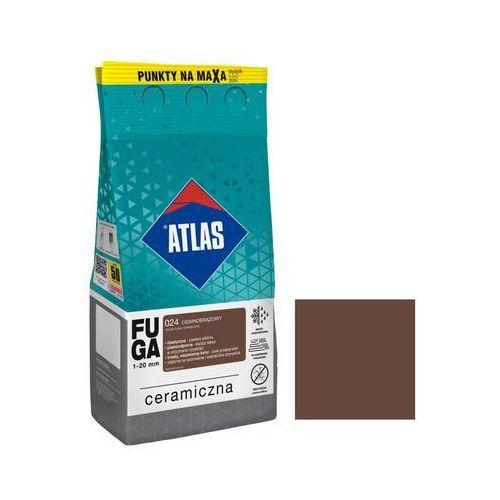 Atlas Fuga ceramiczna 024 ciemnobrązowy 5 kg