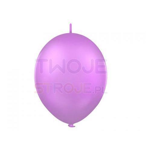 Balon lateksowy pastel lawendowy z łącznikiem 27 cm 1 szt. marki Twojestroje.pl
