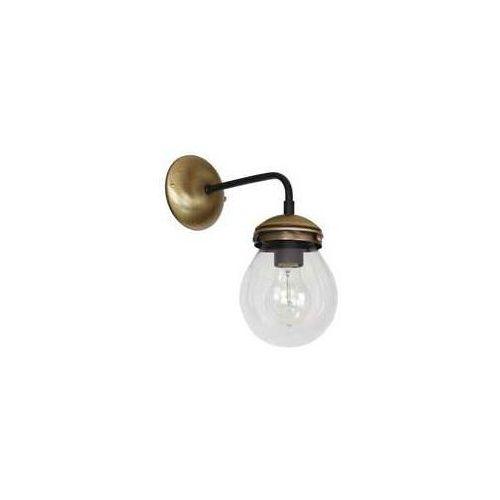 Luminex hydro 6840 lampa wisząca zwis 1x60w e27 złota/czarna (5907565968408)