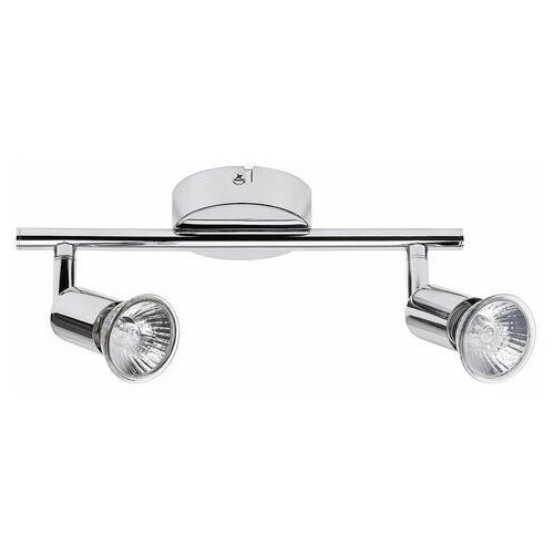 Listwa lampa sufitowa spot Rabalux Norton 2x50W GU10 chrom 6046 (5998250360461)