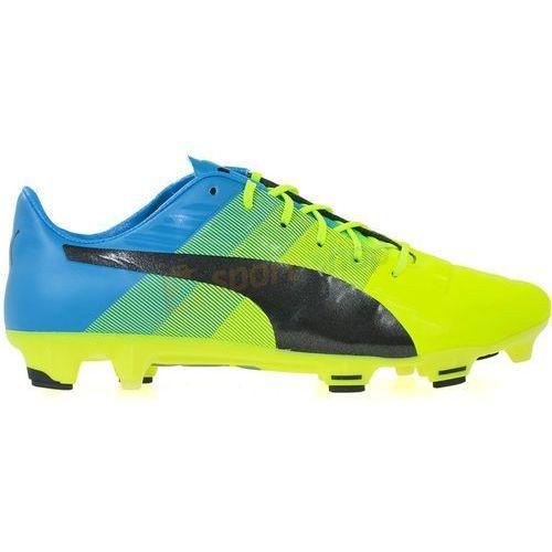Buty piłkarskie korki evoPOWER 1.3 FG Puma (zielone)