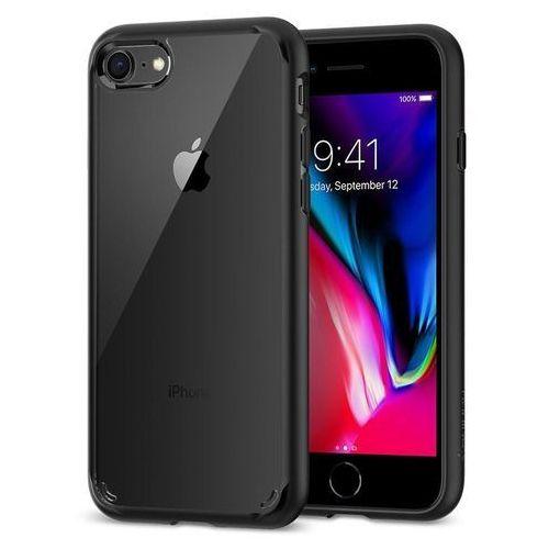 Spigen sgp ultra hybrid 2 black etui iphone 7/8 (8809466649905)