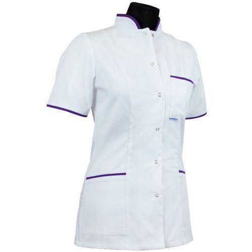 Bluza medyczna dla pielęgniarki - damska (kołnierz stójka) 009+ marki Dlapacjenta.pl - odzież medyczna