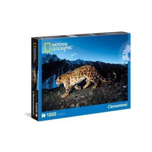 Clementoni 1000 elementów, leopard