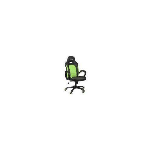 Fotel Nitro Concepts C80 Pure, Czarno-zielony (NC-C80P-BG) Darmowy odbiór w 20 miastach! z kategorii Pozostałe gry i konsole