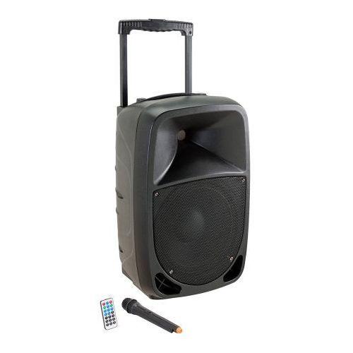 Soundsation go-sound 8amw kolumna aktywna 8″ 250w bluetooth/mp3, w zestawie mikrofon bezprzewodowy