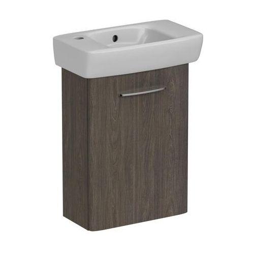 Koło nova pro zestaw: umywalka 45 cm z otw. po lewej stronie + szafka, kolor szary jesion m39008000 (5906976556648)