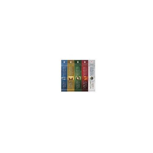 A Song of Ice and Fire, 5 Vols., oprawa kartonowa