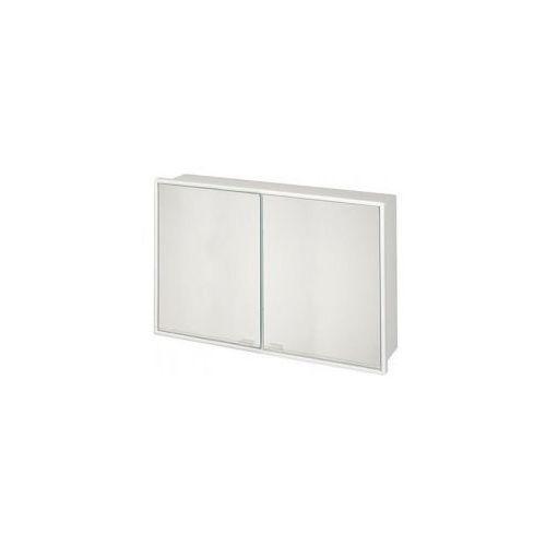 BISK Szafka lustrzana 581x376mm, biała 04256, 04256