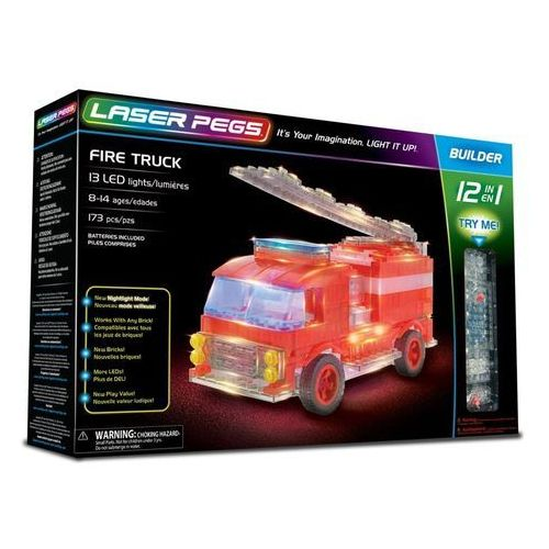 12 in 1 Fire Truck - Laser Pegs
