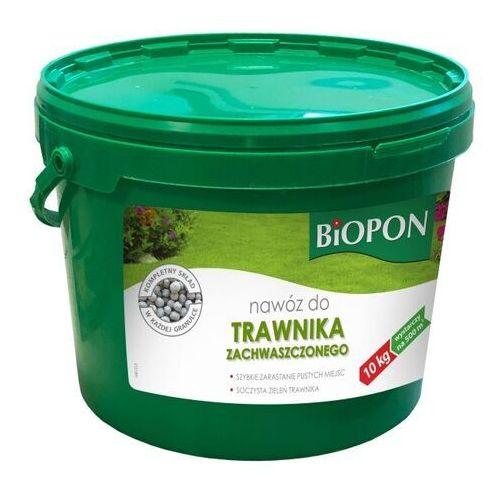 Nawóz do trawników zachwaszczonych Biopon 10 kg (5904517127173)