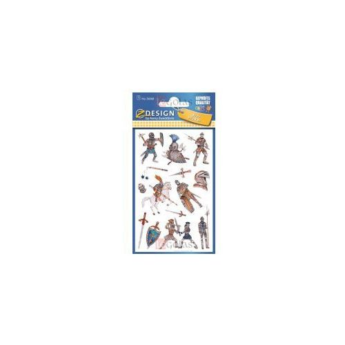 Naklejki brokatowe - Rycerze
