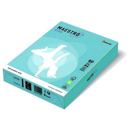 Papier ksero color a4 80g błękit arktyczny obl70 marki Maestro