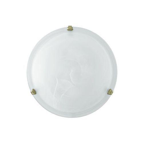Plafon Eglo Salome 7901 lampa oprawa sufitowa 2x60W E27 biały/patyna (9002759790103)