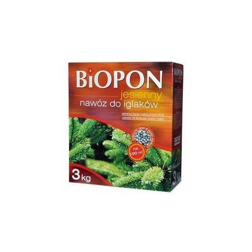 Biopon Nawóz jesienny do iglaków 3kg