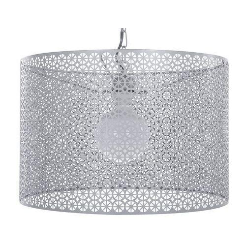 Beliani Lampa wisząca szara mezen (4260624114620)