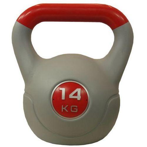 Hantla winylowa kettlebell stayer sport 14kg - 14 kg marki Stayer-sport