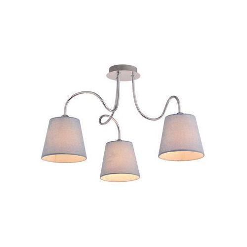 Candellux luk 33-70746 plafon lampa sufitowa 3x40w e14 chrom (5906714870746)