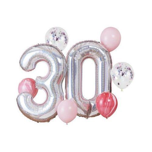 Ginger ray Zestaw balonów na trzydzieste urodziny - 1 komplet (5056275117115)