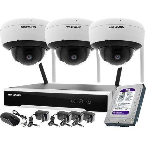 ZM11991 Zestaw wifi bezprzewodowowy 3-kamerowy Hikvision WiFi 4Mpx 1TB, ZM11991