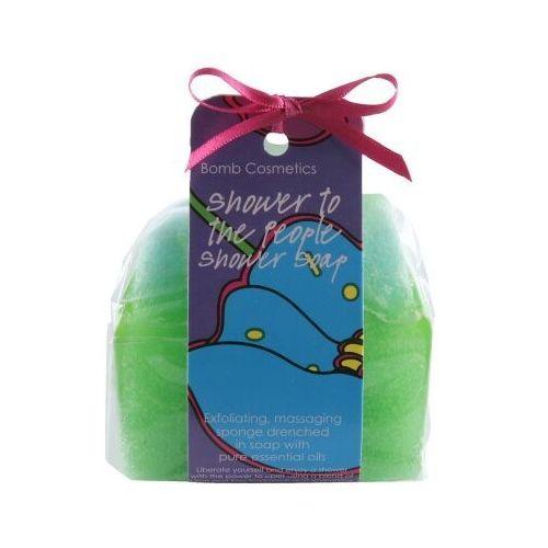 Bomb cosmetics  masująco-złuszczajace mydło pod prysznic cytrusowe pobudzenie 140g (5037028236253)