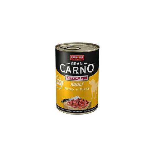 Konzerva ANIMONDA Gran Carno hovězí + krůta 400g, B4-82734