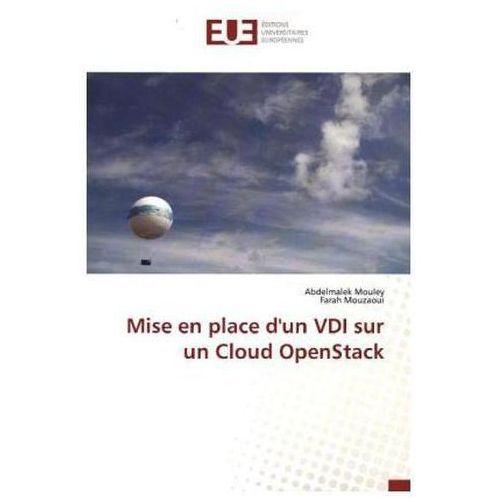 Mise en place d'un VDI sur un Cloud OpenStack
