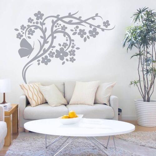 Naklejka dekoracyjna gałąź motyl 2121 marki Wally - piękno dekoracji