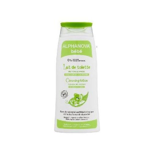 Organiczne Mleczko z Oliwą z Oliwek do Mycia Niemowląt, 200 ml Alphanova Bebe - produkt z kategorii- Pozostałe kosmetyki i higiena
