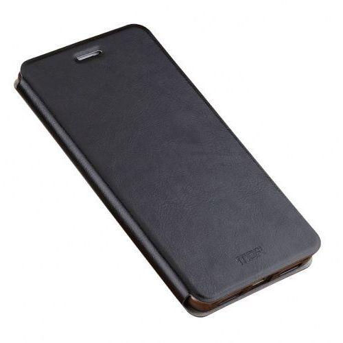 Etui Mofi Rui Skórzane do Xiaomi Redmi 4X Czarne, kolor czarny
