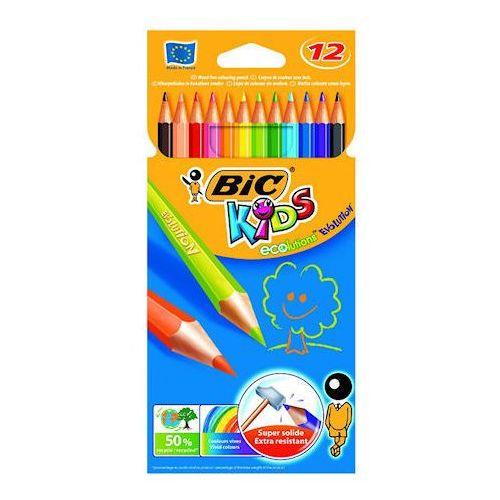 Kredki bic evolution niełamliwe 12 kol x1 marki Kredki ołówkowe