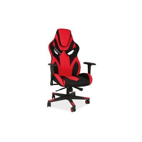 Fotel Signal Cobra II gamingowy czarny/czerwony