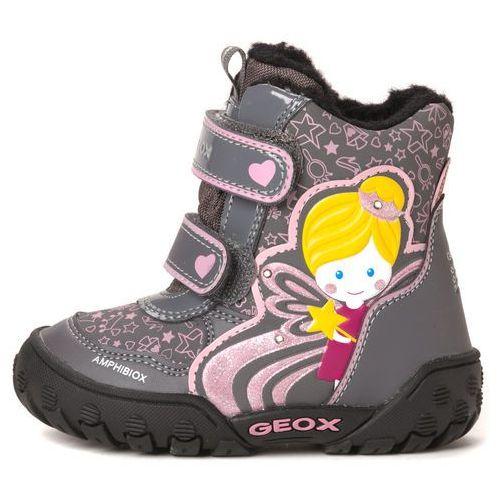 Geox buty za kostkę dziewczęce 27 szary ()