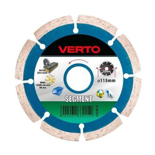 Tarcza do cięcia graphite 57h616 125 x 1.5 x 22.2 mm diamentowa segmentowa marki Verto
