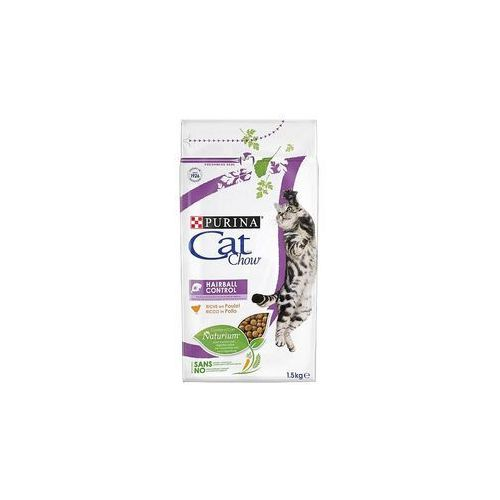 Cat chow 1,5 kg purina + pakiet próbny gourmet gold, 4 x 85 g gratis! - adult special care hairball control (5997204514486)