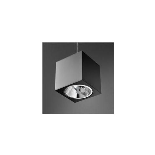 Rabaty w sklepie do 25%!! big cube ar111 zwis lampa wisząca 51311-02 czarna marki Aquaform