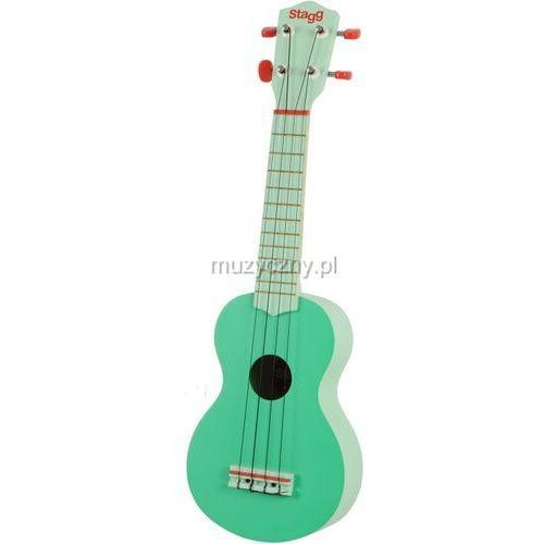 Stagg US-GRASS - ukulele sopranowe, 9791-410C1