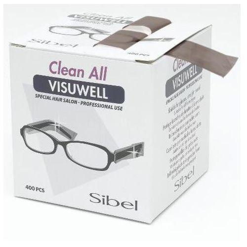 Osłonki jednorazowe na okulary visuwell 400 szt. marki Sibel