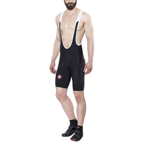 Castelli evoluzione 2 spodenki na szelki mężczyźni czarny xl 2018 spodenki rowerowe