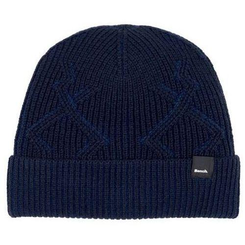 czapka zimowa BENCH - Fishermans Interest Rib Beanie Dark Navy Blue (NY031)