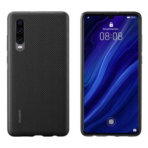 p30 pu cover - black marki Huawei