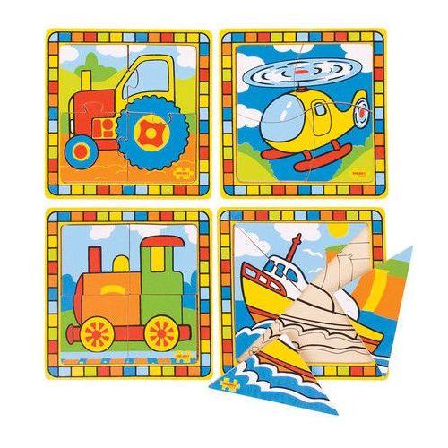 Moje Pierwsze Puzzle - Środki Transportu