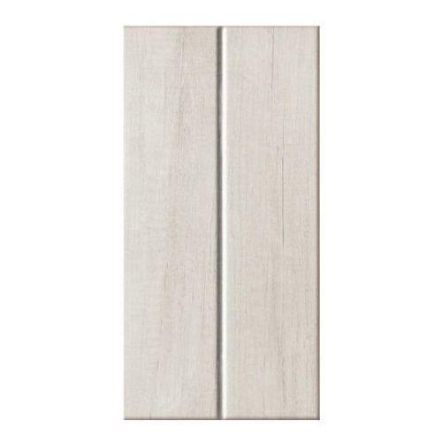 Glazura pinia 22,3 x 44,8 cm biała struktura 1,5 m2 marki Arte