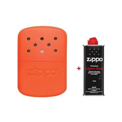 Ogrzewacz do rąk  12h pomarańczowy + benzyna, marki Zippo