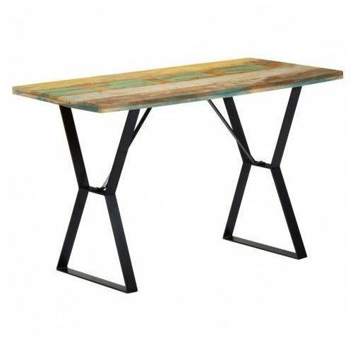 Producent: elior Industrialny stół cornel 3c - drewno odzyskane